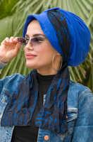 Saks blue black