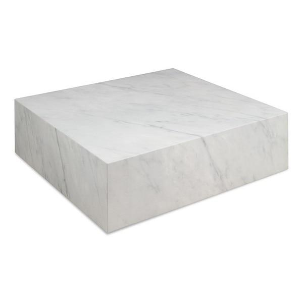 Centre Table Cube (90 X 90 X 28 Cm) Marble