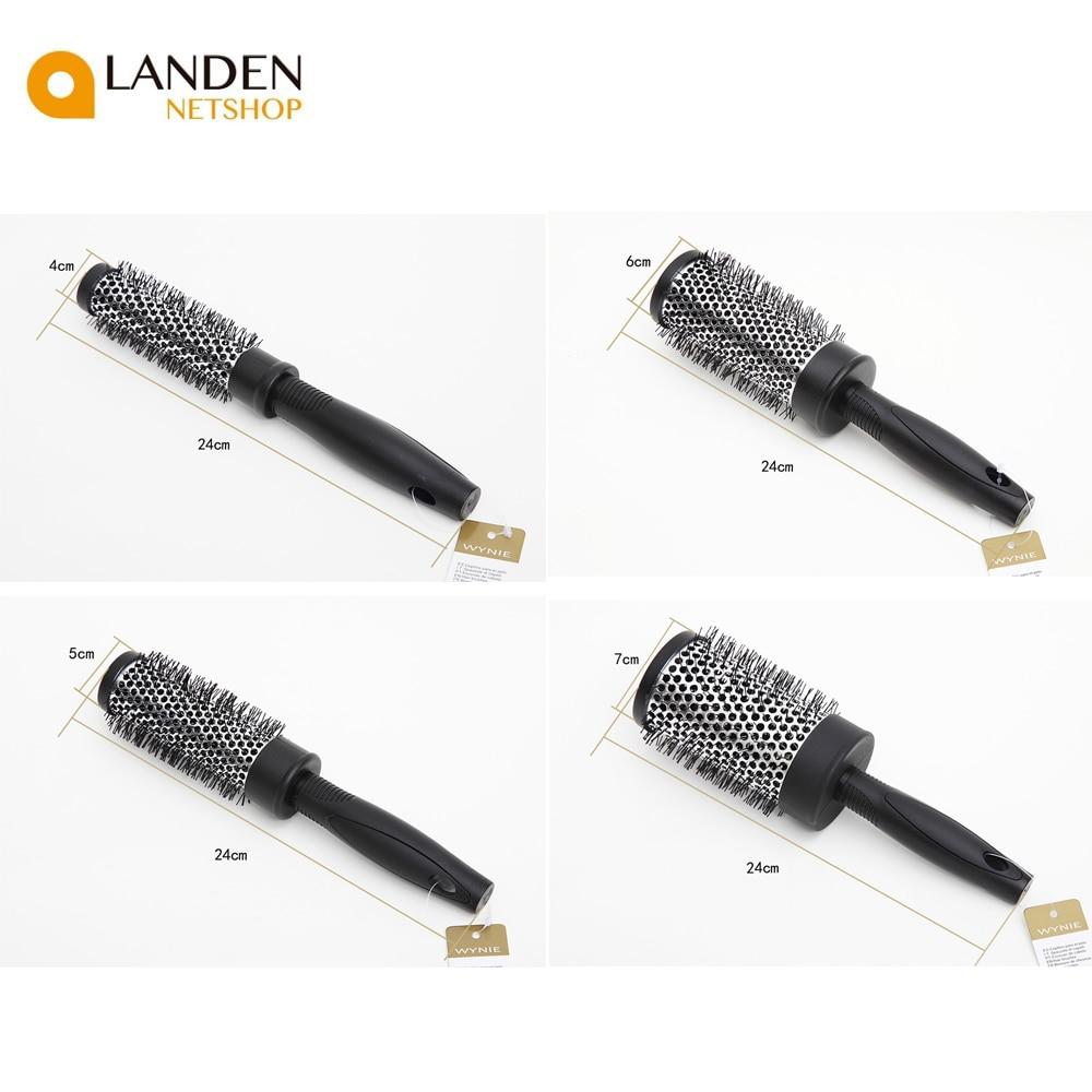Hair Brush 5 Sizes Thermic De Ceramics Ion Round Barrel Brush Comb Salon Hair Salon Styling Crimper