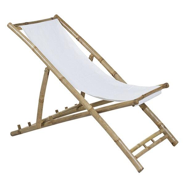 Chair (115 X 66 X 59 Cm) Bamboo White