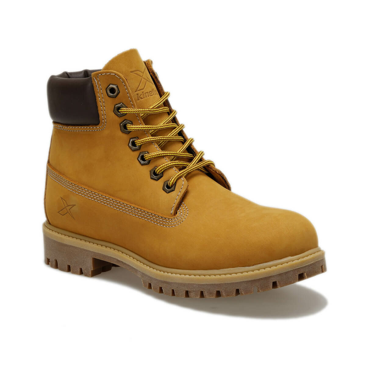 FLO A1305005 Yellow Men Boots KINETIX