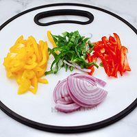 """#美食说出""""新年好""""#柠香彩蔬鸡胸肉的做法图解2"""
