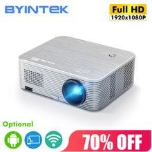 BYINTEK K15 Full HD1080P 3D 4K Android WIFI LED intelligent LCD projecteur vidéo projecteur pour Smartphone