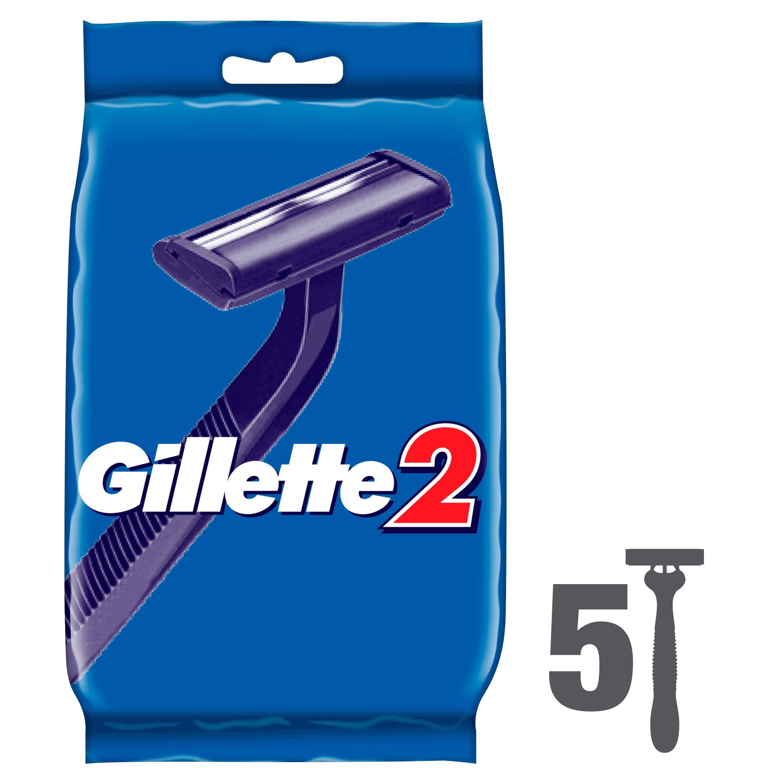 Disposable men's razor Gillette 2 4 + 1 pc. цена 2017