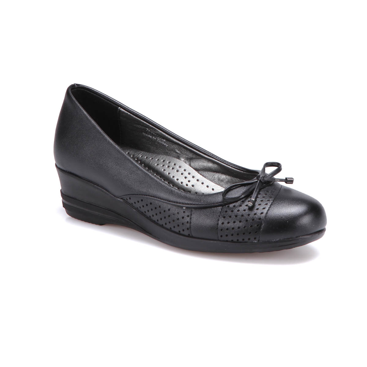 FLO 71.156568.Z Black Women 'S Classic Shoes Polaris
