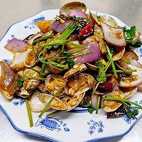 辣炒花蛤(花蚬子、花甲、蛤喇)的做法图解12