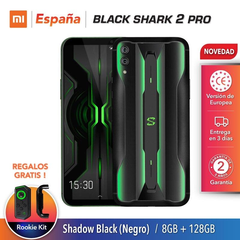 Xiaomi Black Shark 2 Pro (128GB ROM, 8GB RAM, Android, Nuevo, Libre) [Teléfono Movil Versión Global para