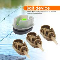 Dispositivo prático clássico do ninho de pesca do mar do dispositivo do ninho de pesca durável método chumbador planas calhas alimentador molde para a pesca sinker