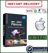 Wondershare Filmora X v10.1.7.10 многоязычный macOS для MacBook и iMac✅Полная версия✅2021✅Лицензия на пожизненный срок✅Редактор видео