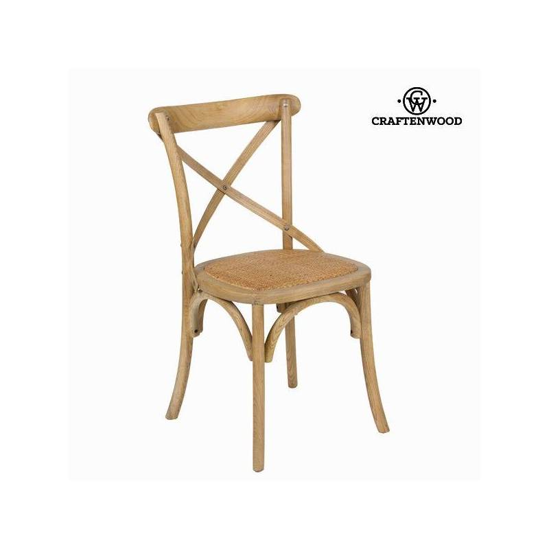 Chair Elm Wood (45x42x88 Cm) By Craftenwood
