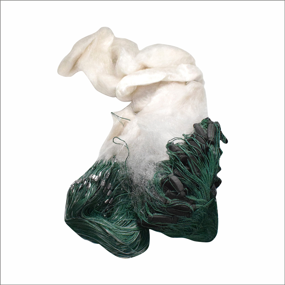 Fishing Net F Accessory Winter Fishing Shipping Lead Floats Height 5 M Length 80 M One White Line