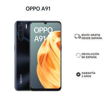 Перейти на Алиэкспресс и купить OPPO A91 8GB/128GB экран смартфона 6,4 дюймУльтра тонкий дизайн четыре задние камеры OTG 2 года гарантии