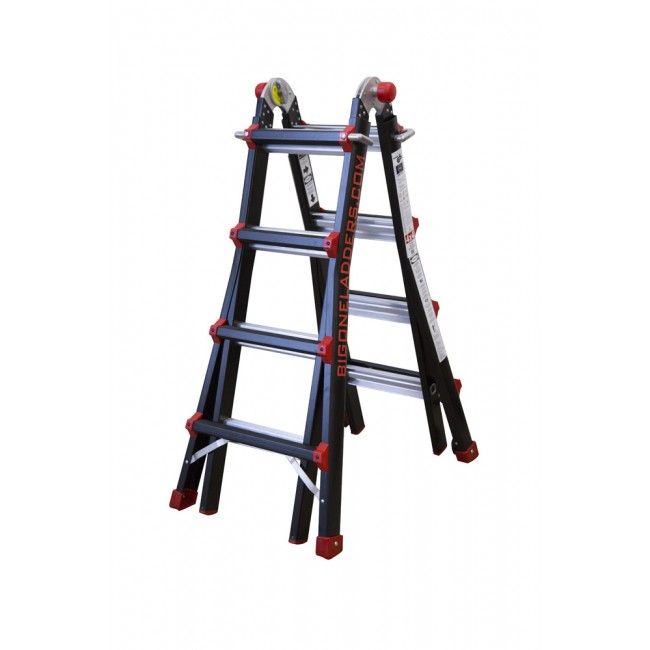 Telescopic Ladder Folding BigOne 4x4 IBERANDAMIOS