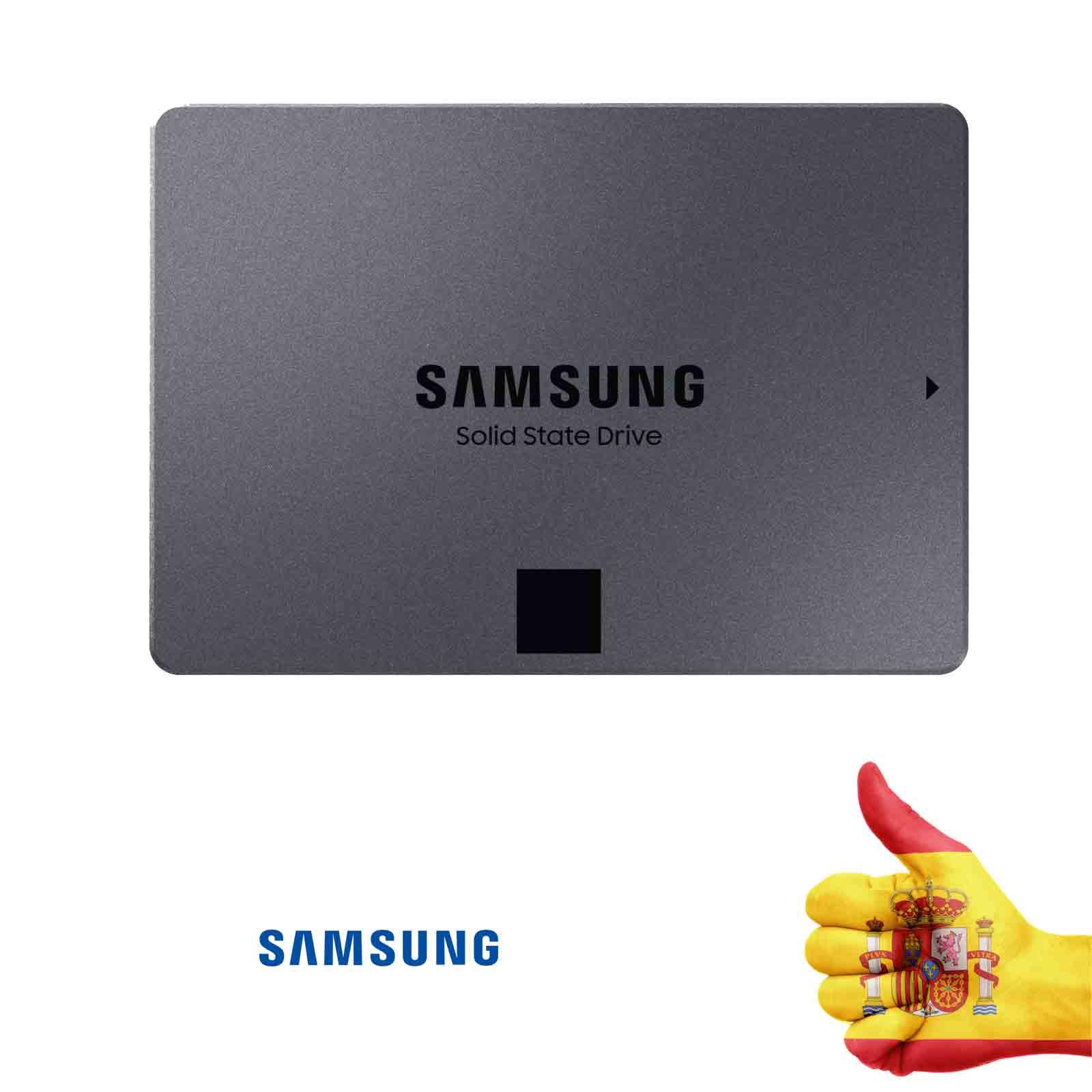 Disque dur solide SSD SAMSUNG 860 QVO 2 to (MZ-76Q2T0BW) SATA III (2000 go dur, 2.5