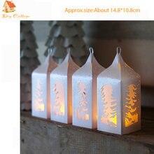 Рождественский фонарь металлические высечки для поделок скрапбукинг