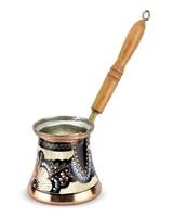 Anatolian turco otomano árabe chá café espresso pot % 100 cobre turquia cafeteira cezve ibrik feito na turquia presente conjunto|Cafeteiras| |  -