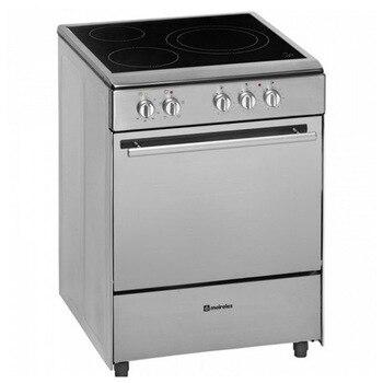 Conjunto de horno y vitrocerámica Meireles 60cm acero inoxidable