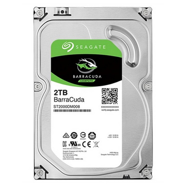 Hard Drive Seagate ST2000DM008 2 TB 3.5