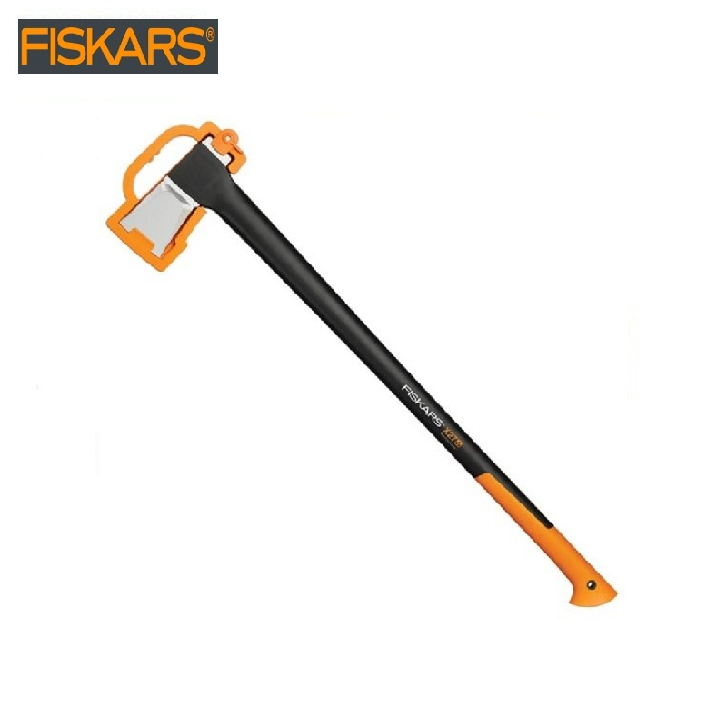 Pitch - hand Fiskars X27 (1015644) heavy harvesting  Woodworking tools tomahawk dividing ax survival
