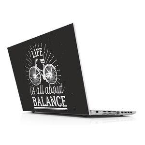 Стикер мастер велосипед универсальный ноутбук Кожа для 13 14 15 15,6 16 17 19