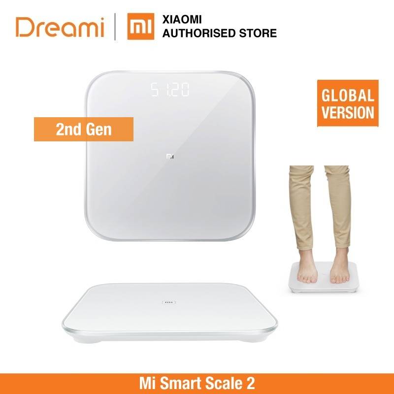 (OFFICIAL) Mi Smart Scale 2 Digital Weighting Scale (Bluetooth 5 Support Android 4.3 IOS 9 Mifit APP)