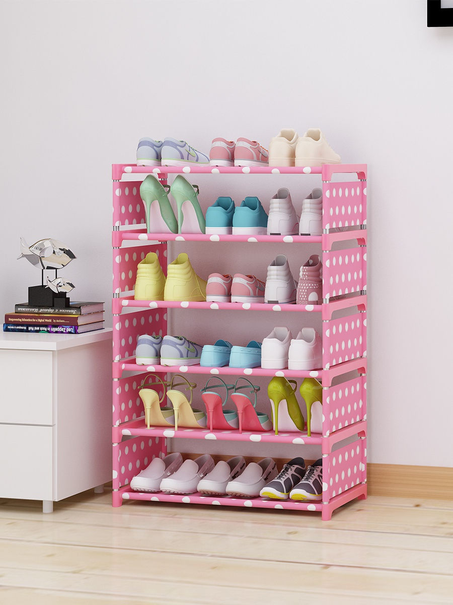 Stand Bookcase Shoe Storage