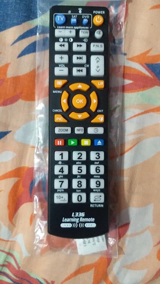 Télécommande universelle intelligente CB336™ avec fonction d'apprentissage copie pour tous appareils