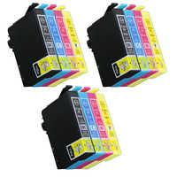 12 cartriges T18XL T 18XL T 18 XL t1811 t1812 t1813 t1814's refill Compatible for printer Epson Model XP312