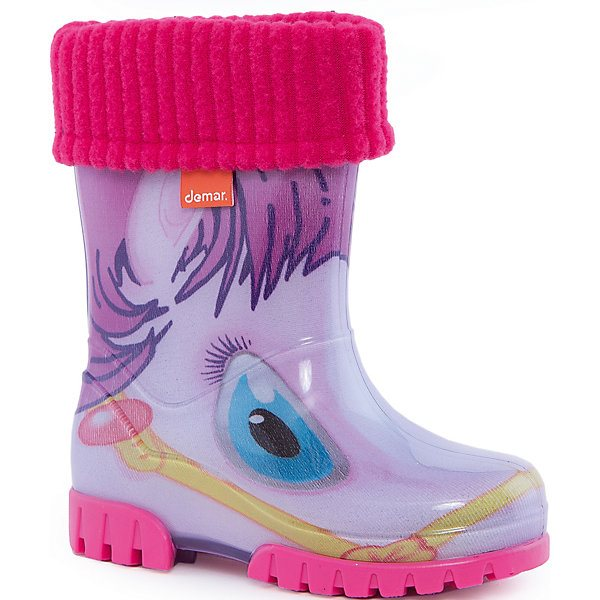 Rubber boots with removable toe Demar Twister Lux Print