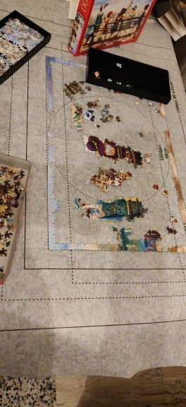 Jigsaw Puzzle Roll Up Mat 1500 To 3000 Pieces photo review