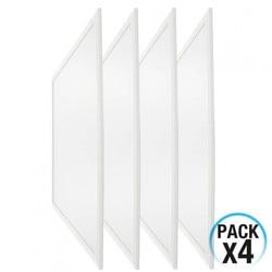 Pack 4 LED Panels Ultraslim Platz 36W 3200lm 600x600mm 4000K 7hSevenOn