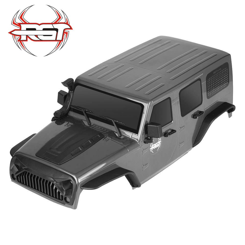 RGT Body Shell For 1:10 RC Crawlers Axial SCX10 Redcat 313mm Wheelbase Axial SCX10 90046 90047 RC Car Parts