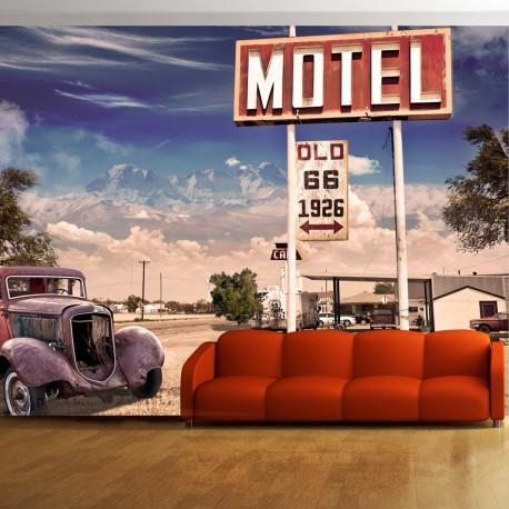 Photo Wallpaper-Old Motel