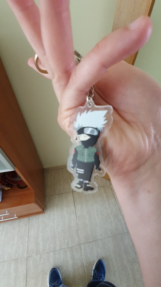 Naruto Keychain Cosplay photo review