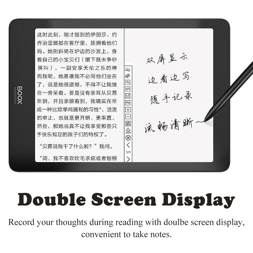 "Image 4 - BOOX NOVA Pro 7.8"" Ebook Reader 300PPI Carta Dual Color Frontlight UItra HD Ereader 2G/32GB 4 core Android 6.0 eBook e readereBook Reader   -"