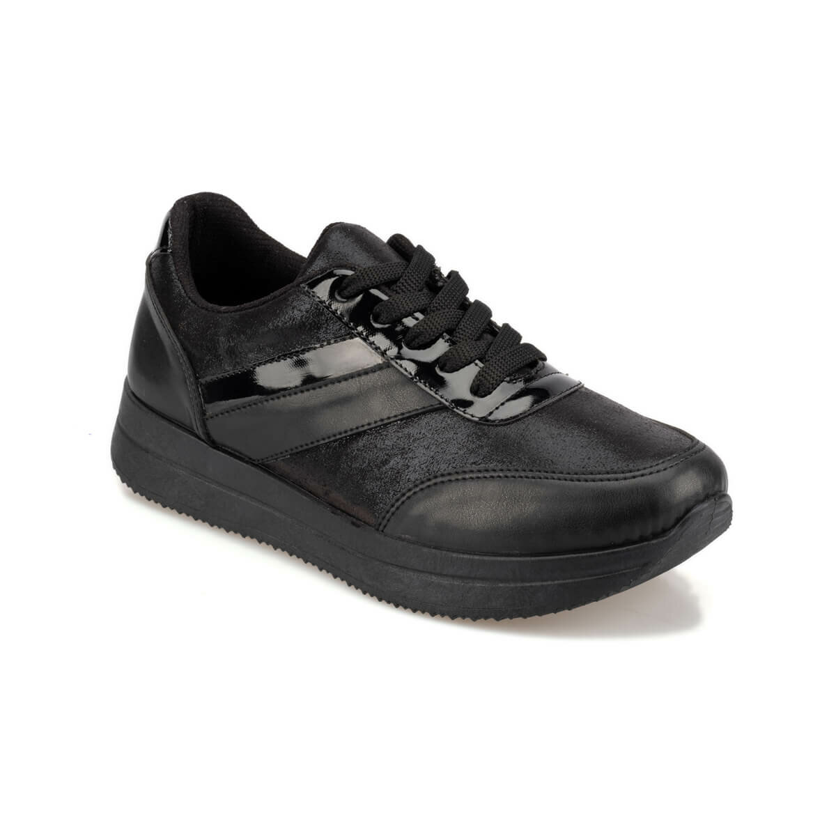 FLO 92.314867.Z Black Women Sneaker Polaris