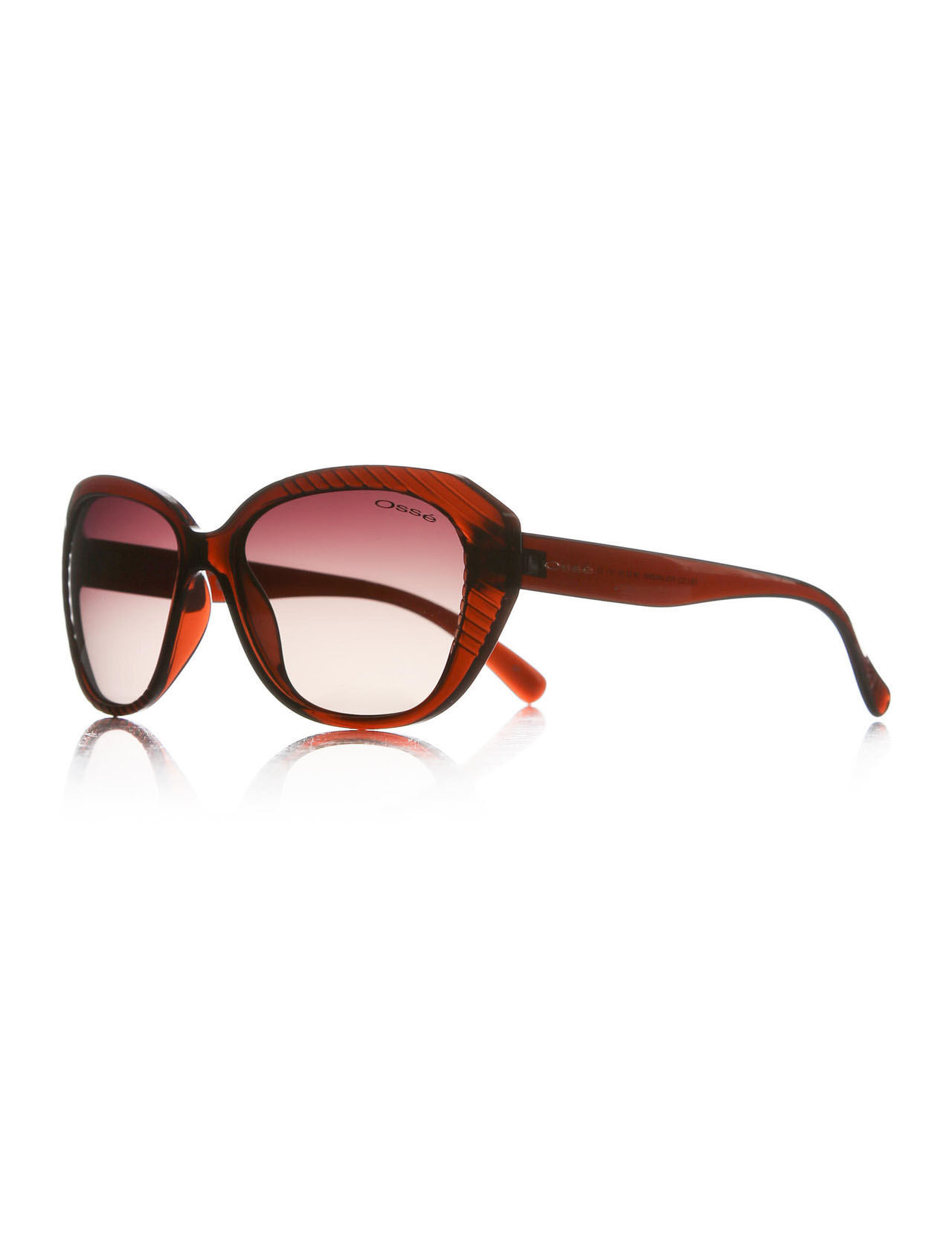 Women's sunglasses os 1753 03 bone Brown organic oval aval 58-16-141 osse