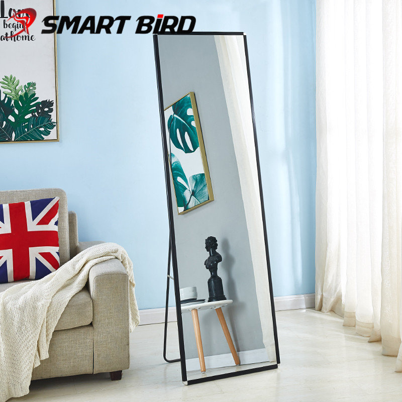 Напольное зеркало с рамой из алюминиевого сплава Smartbird CH-08