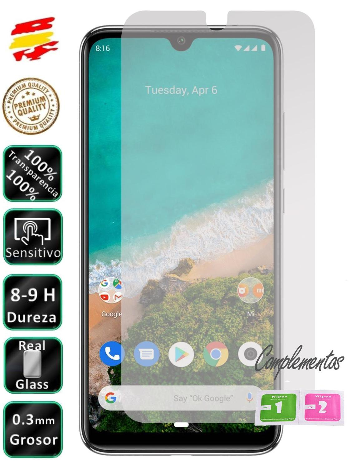 LCD Cover Screen Protector Tempered Glass For Xiaomi Mi A1 A2 A3 A2 Lite 5X8 9 9T LITE PRO YOU Choose Model