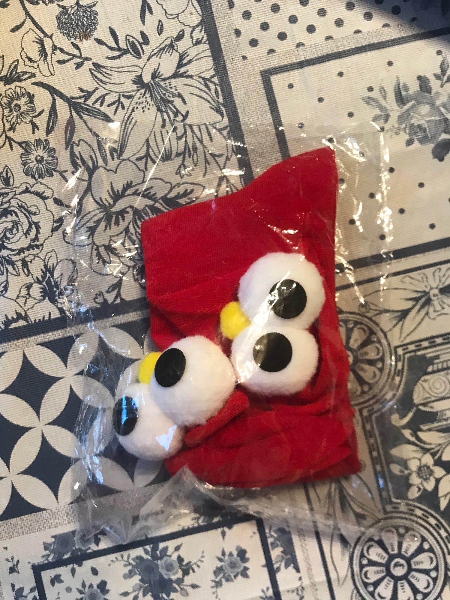 3D eyes Funny Socks Harajuku kawaii style photo review