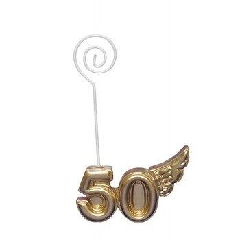 Lote de 20 Pinzas Portanotas Porta Fotos 50 ° Aniversario Bodas de...