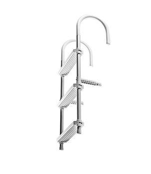 Gangway side folding/portable 3 steps 370x900mm c13038