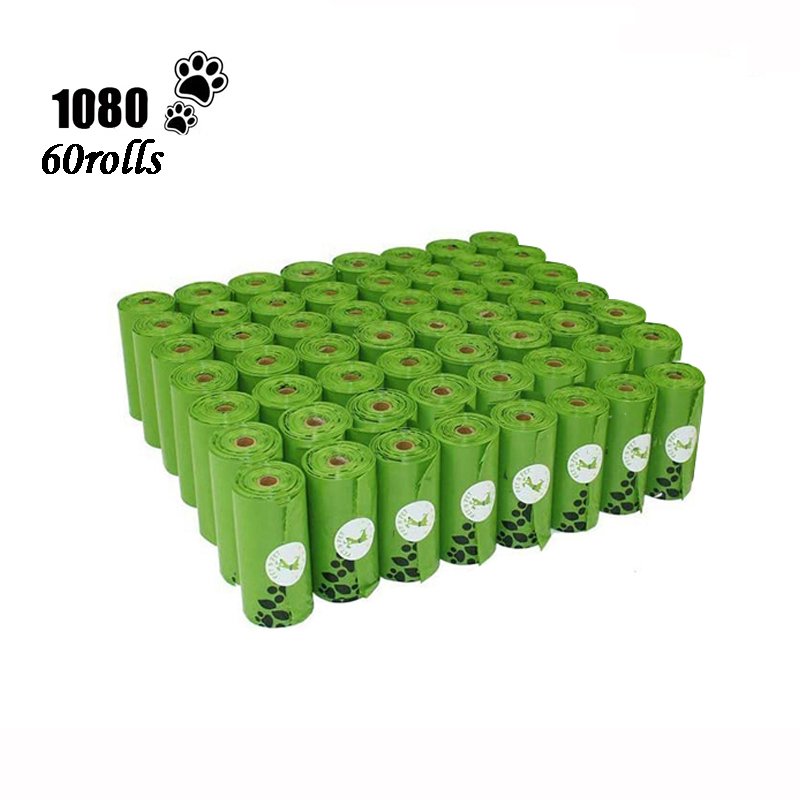 Pet N Pet Dog Poop Bags Earth Friendly 10/12 Micron Large Cat Waste Bags Doggie Bag Green Black Orange Pink Color Garbage Bags