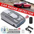 E8 Car Radar Detectors GPS Laser Anti Radar 12V Car Electronics Detector Best Antiradars Speed Detectors Support English Russian
