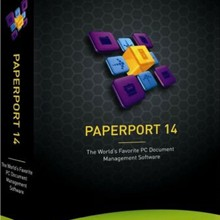 Nuance PaperPort Software for Windows Organize documents scanning converting editing sharing files