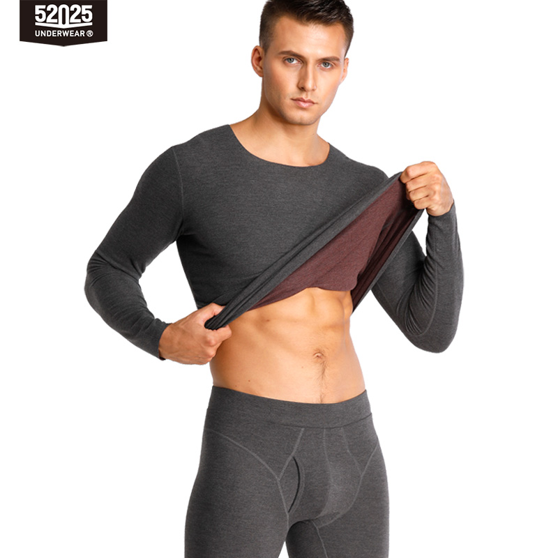 52025 Men Thermal Underwear Women Thermal Underwear Reversible Double-sided Warm Seamless Premium Quality Long Johns Men Thermal