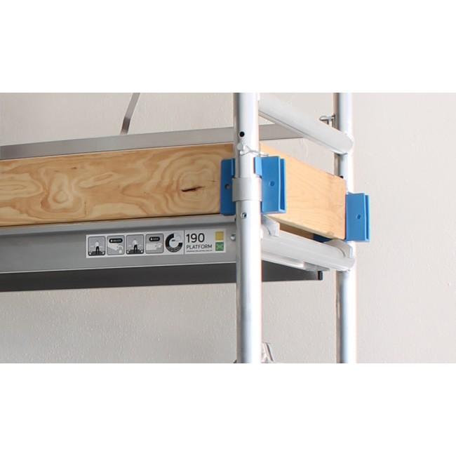 Set Skirting Wood For Scaffolding Folding 135x190