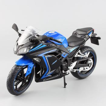 Nowa gorąca sprzedaż!!! Model stopu Diecast 1 12 Kawasaki Ninja 250 Model zabawki dla dzieci kolekcja prezentów tanie i dobre opinie BAANFU CN (pochodzenie) Z tworzywa sztucznego odlew NOT FOOD Motocykl 3 lat Inne
