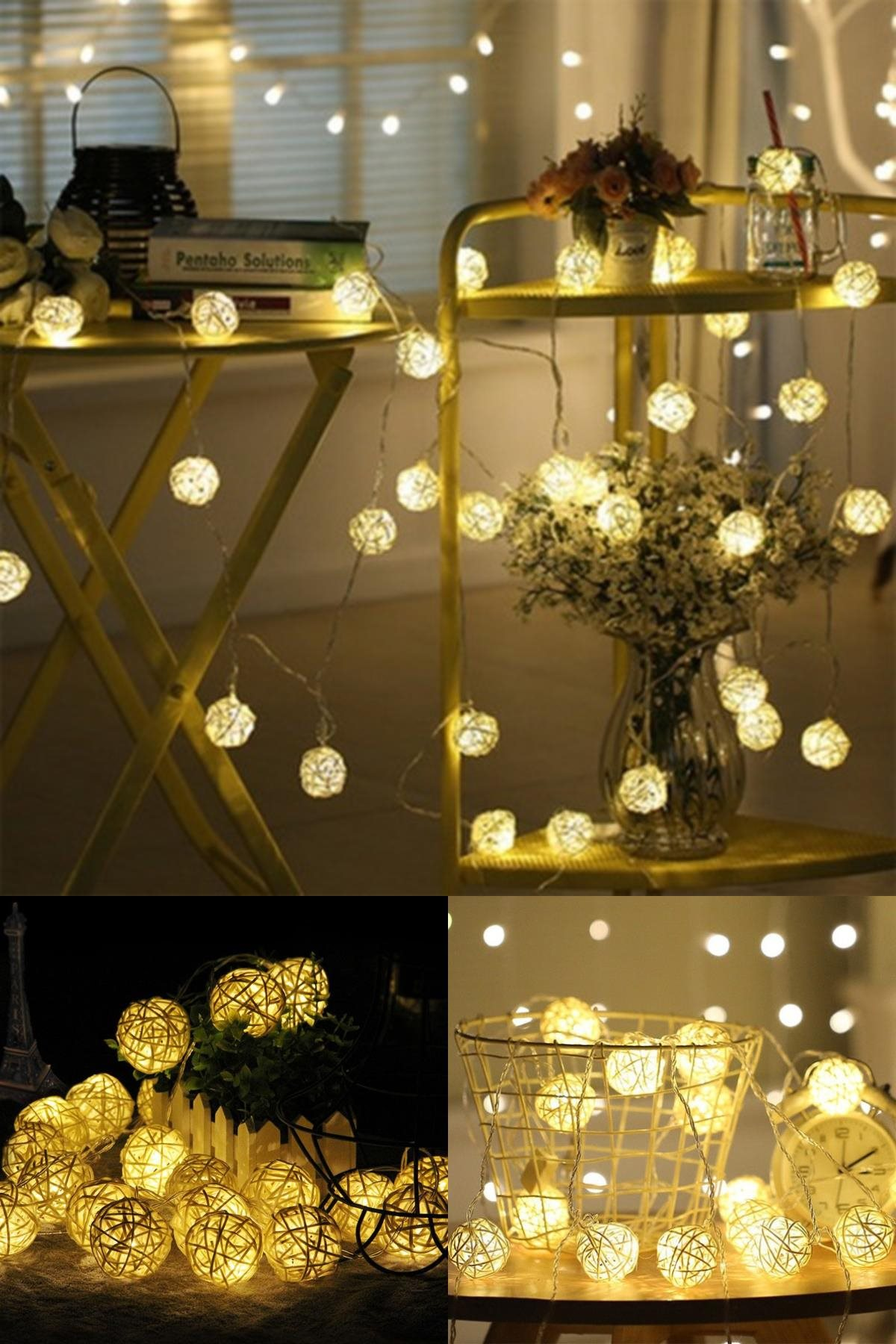 Decorative Led Strip Rattan Pattern (10 S)