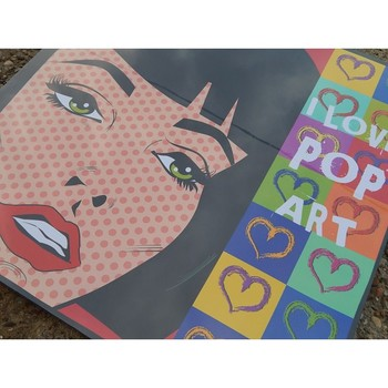 VINTAGE PICTURE WALL DECORATION COMIC POP ART